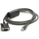 Zebra Scanner Cables and Adapters ZEB-CBAR10S07ZBR Front View