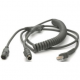 Zebra Scanner Cables and Adapters SYM-CBAK02C09PAR Front View