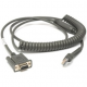 Zebra Scanner Cables and Adapters SYM-CBAR37C09ZAR Front View