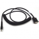 Zebra Scanner Cables and Adapters MOT-CBAR71C09ZAR Front View