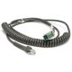 Zebra Scanner Cables and Adapters SYM-CBAU34C09ZAR Front View