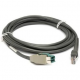 Zebra Scanner Cables and Adapters ZEB-CBAU35S15ZBR Front View