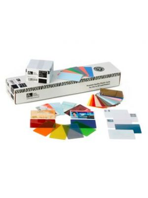 Group Of Zebra PVC Cards Of Different Colours and Sizes
