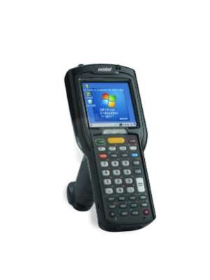 Zebra MC3200 Mobile Computer (Straight Shooter, 1D, 38 Keys, 512MB RAM, 2GB Flash Scanner)