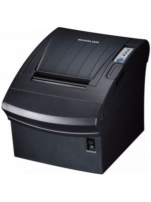 Bixolon Black Receipt Printer -- Front View