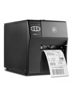 Zebra ZT220  Heavy Duty Barcode Label Printer - ZT22042-D0E200FZ Front View