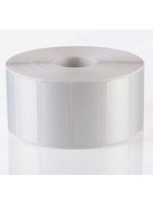 Barcode Labels 3M material Silver Poly Propalin 50mm x 25mm 1000 Sticker Per Roll
