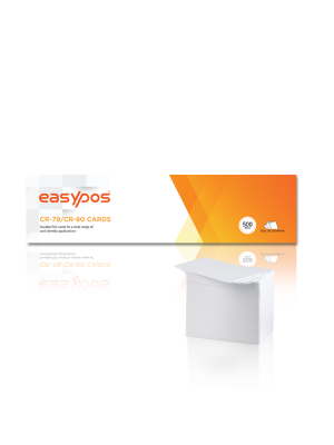 Front View Of Plastic Card