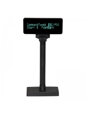 EasyPos 2 lines Fluorescent display Pole front view