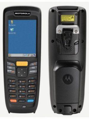 Zebra MC2180 Mobile Computer- Front and Rear view