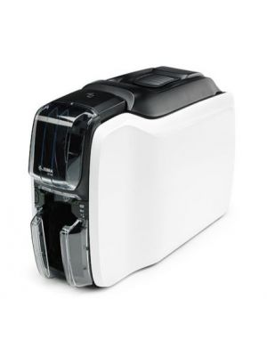 Right side view of zebra barcode printer