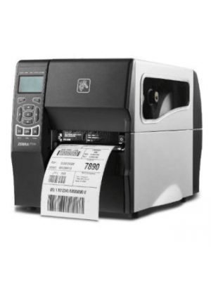 Zebra ZT230  Heavy Duty Barcode Label Printer - ZT23042-D0E000FZ Front View