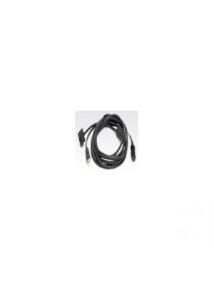Zebra Printer Cables & Adapters 105912-212 Front View