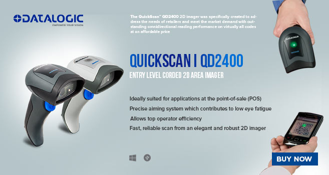 2 barcode scanners