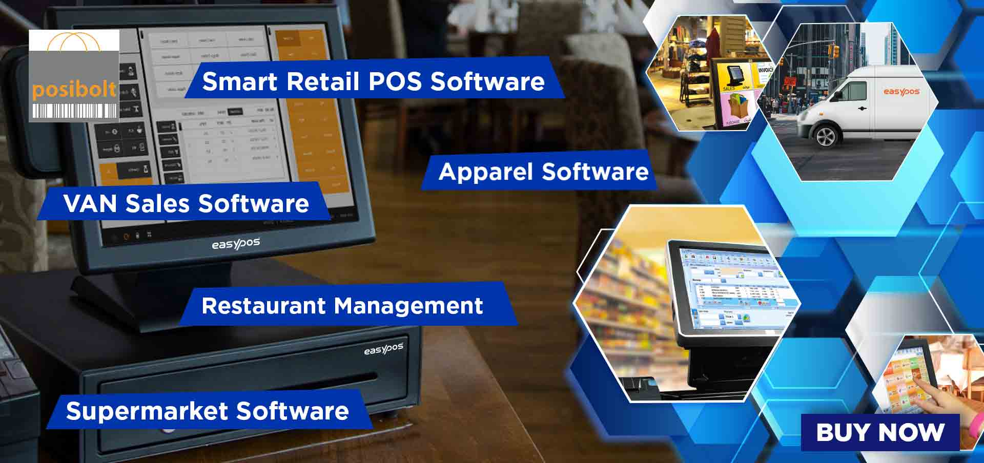 pos machine in a store